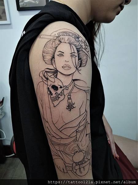 #藝妓刺青