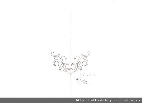 水瓶座星座符號TATTOO<設計稿>.