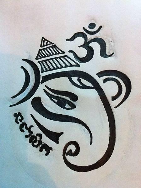 法力刺青大師阿贊內佛曆2556年發表全新紋符新圖