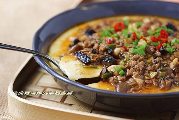 麻婆肉燥燴芙蓉豆腐