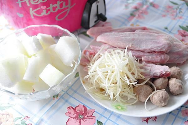 鴨肉燉冬瓜湯1