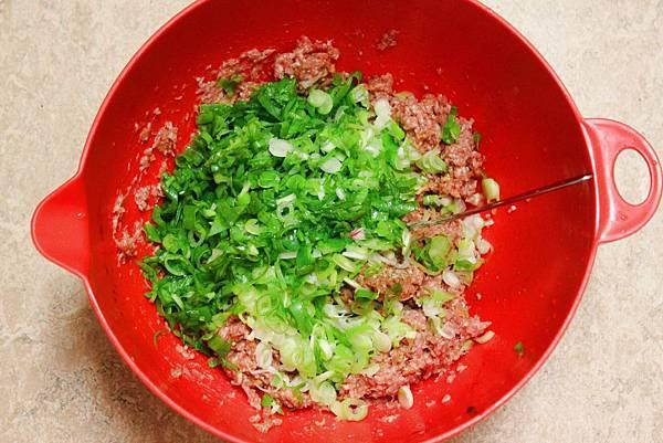蔥花香菇肉包2