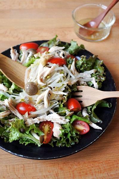 銀芽雞肉薑泥沙拉15