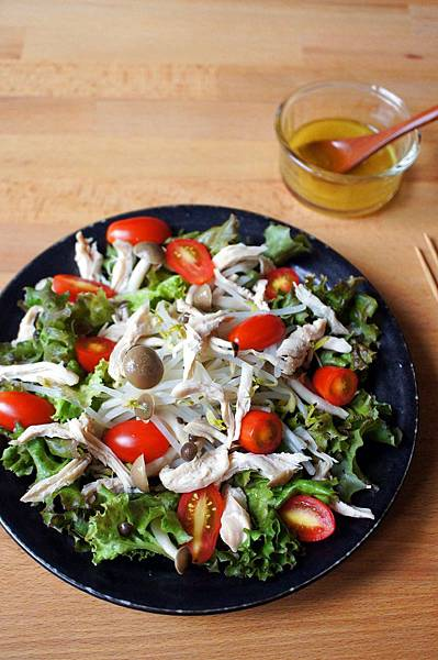 銀芽雞肉薑泥沙拉12