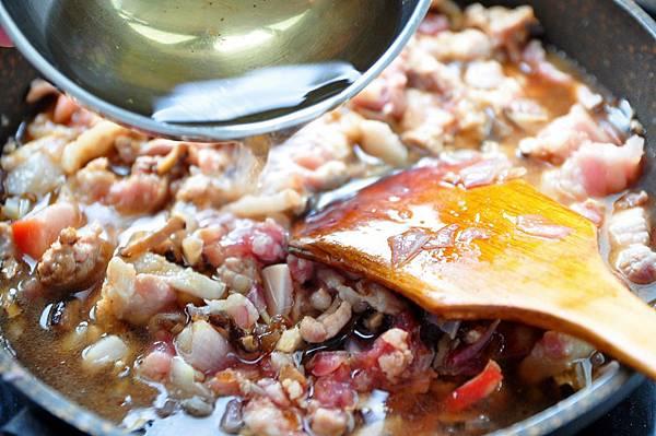 紅蔥香菇滷肉5
