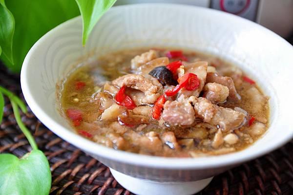 紅蔥香菇滷肉10