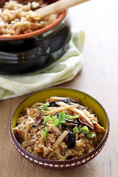 竹筍菜脯炊飯