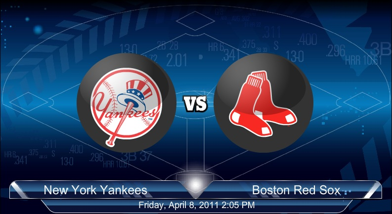 Yankees VS Red Sox 4-9-2011