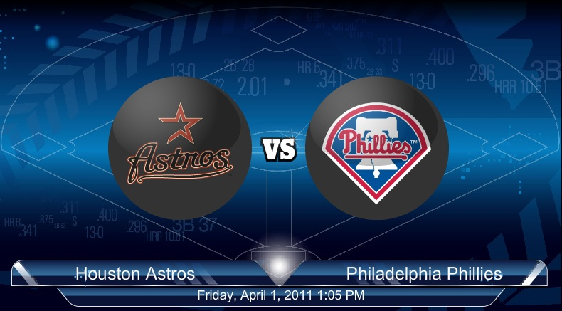 4-2-2011 Astros VS Phillies