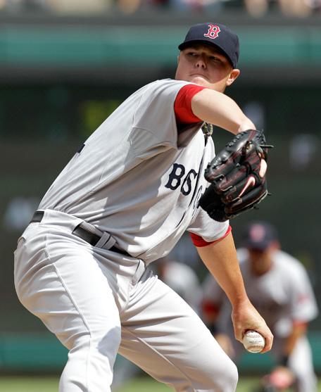 4-2-2011 Red Sox VS Rangers Jon Lester