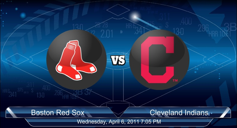 4-7-2011 Red Sox VS Indians