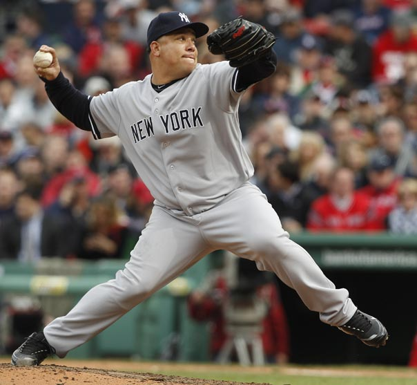 Bartolo Colon Yankees VS Red Sox 4-9-2011