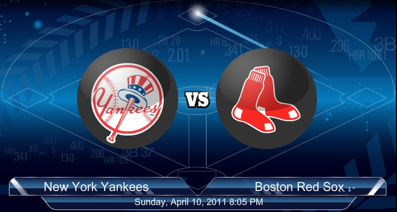 Yankees VS Red Sox 4-11-2011