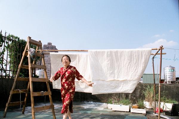 曬棉被的好天氣