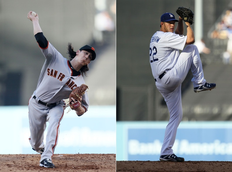 4-1-2011 Tim Lincecum VS Clayton Kershaw
