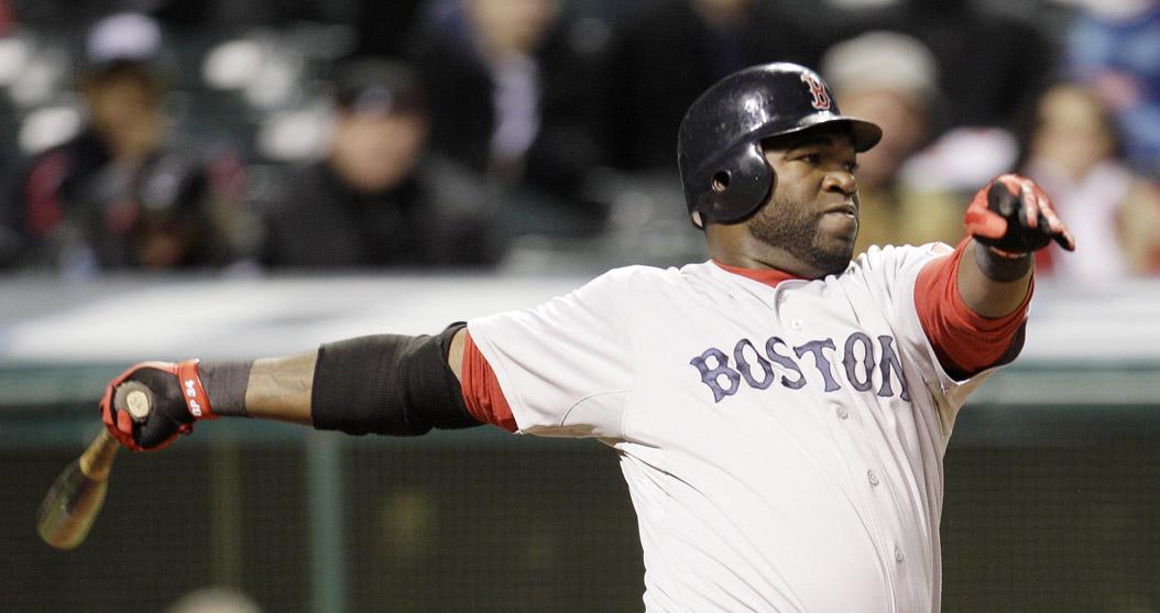 4-6-2011 Red Sox VS Indians  David Ortiz
