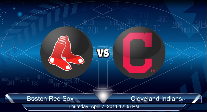 4-8-2011 Red Sox VS Indians