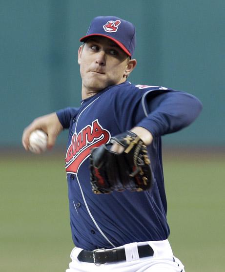4-6-2011 Red Sox VS Indians  Josh Tomlin