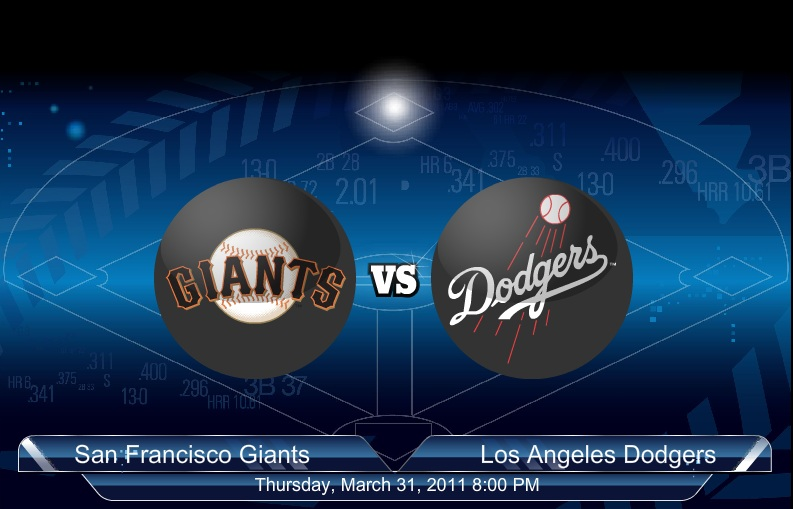 2011 No.1 Giants VS Dodgers