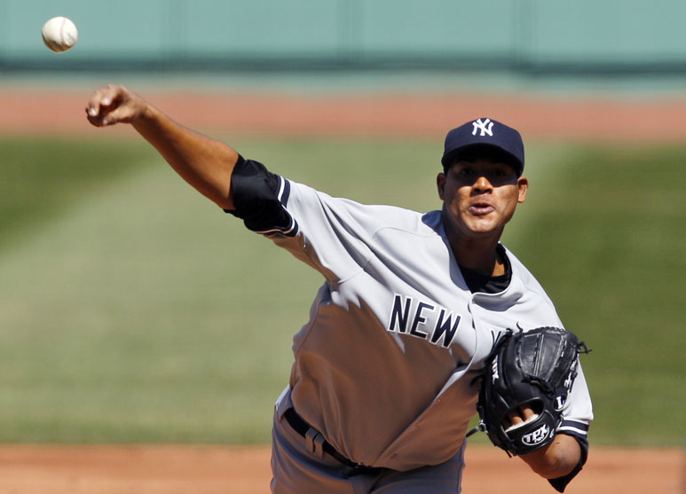 Ivan Nova Yankees VS Red Sox 4-10-2011
