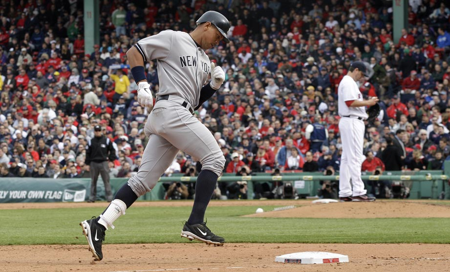 Alex Rodriguez Yankees VS Red Sox 4-9-2011