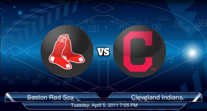 Red Sox VS Indians 4-6-2011