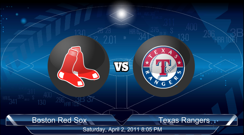 4-2-2011 Red Sox VS Rangers