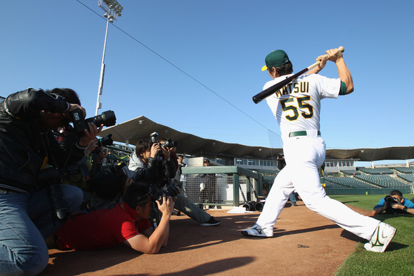 Hideki Matsui Oakland Athletics.jpg