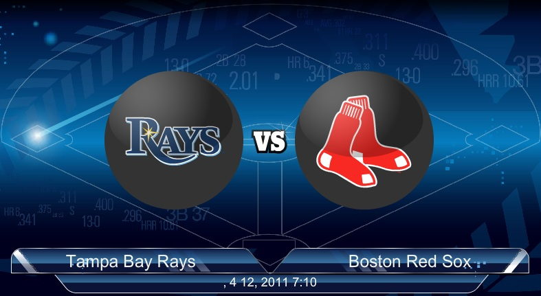 Rays VS Red Sox 4-13-2011
