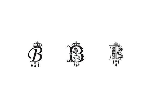 小說《美人心機》章節字母設計,最後是左邊字母雀屏中選
