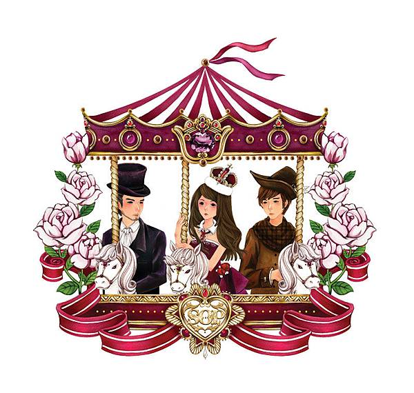 SOP女王:T-shirt插圖設計