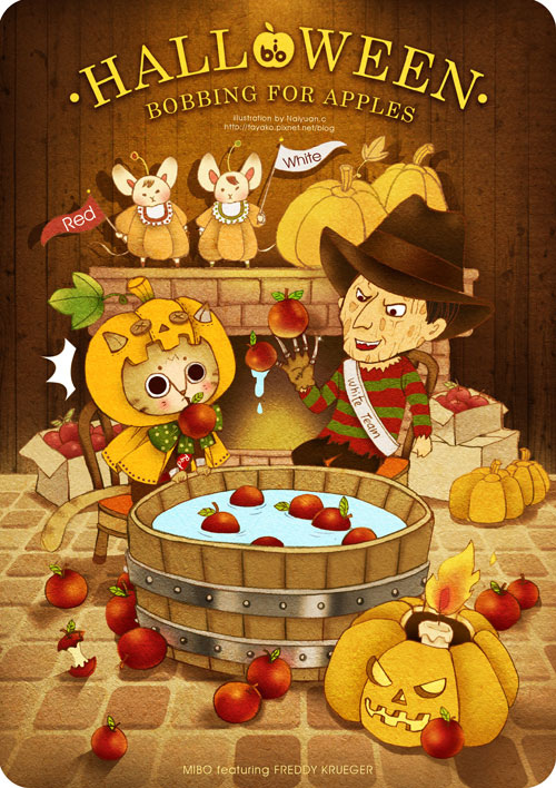 Bobbing for apples_MIBO featuring Freddy Kruger