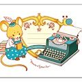 Mouse x Typewriter