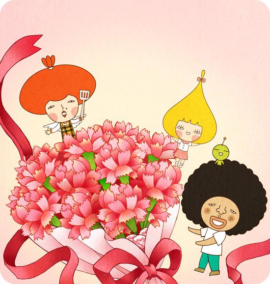 5月 感恩母親節