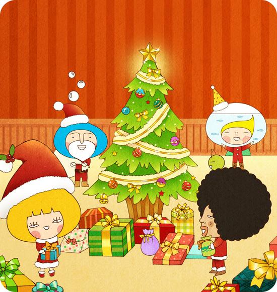 12月 聖誕交換禮