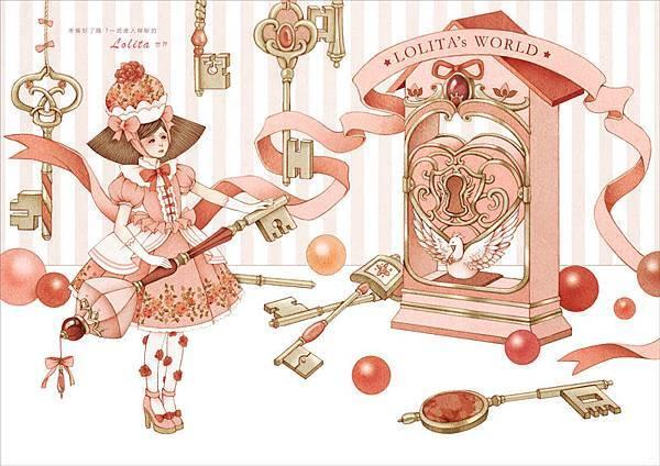 準備好了嗎 ? 一起進去神秘的Lolita世界。