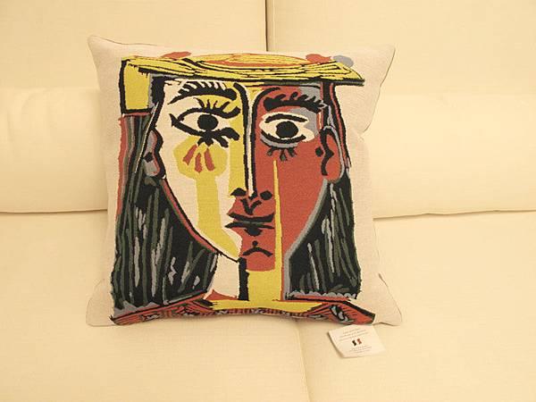 畢卡索抱枕