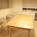 優渥實木餐桌椅