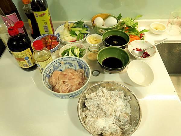 一看就很中式的料理