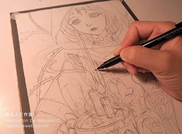 魔女_黑祭司sketch