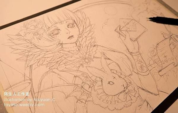 魔女系列_sketch