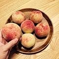 好大顆的拉拉山水蜜桃