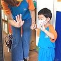 兒子3y4m  今天第一天去上學,小班