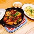 金沙美人腿+燉肉鍋