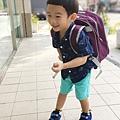 兒子3y4m 上學去!