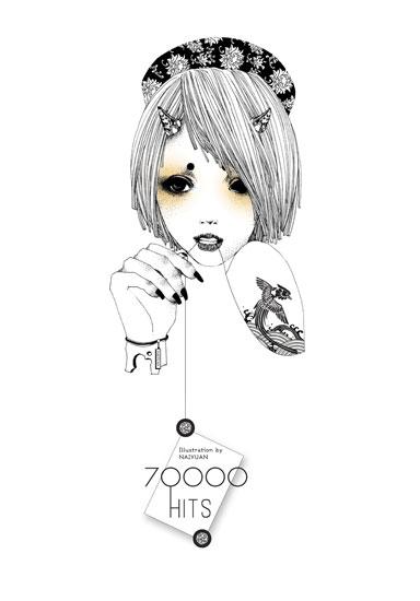 70000hits