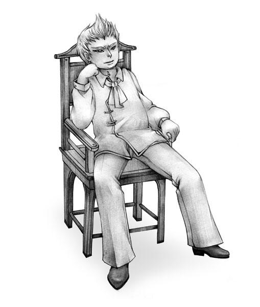 內頁人物插圖