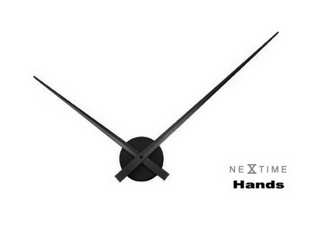 NeXtime-Hands 指針鐘  黑.jpg