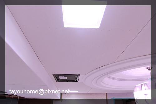 餐廳天花板整修完成4.jpg