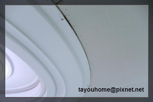 餐廳天花板整修特寫2.jpg
